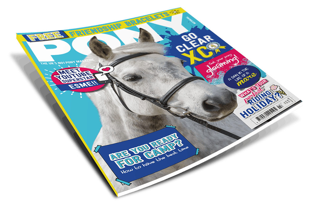 July PONY Magazine front cover
