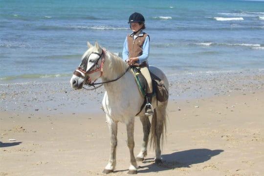 Pony riding holiday