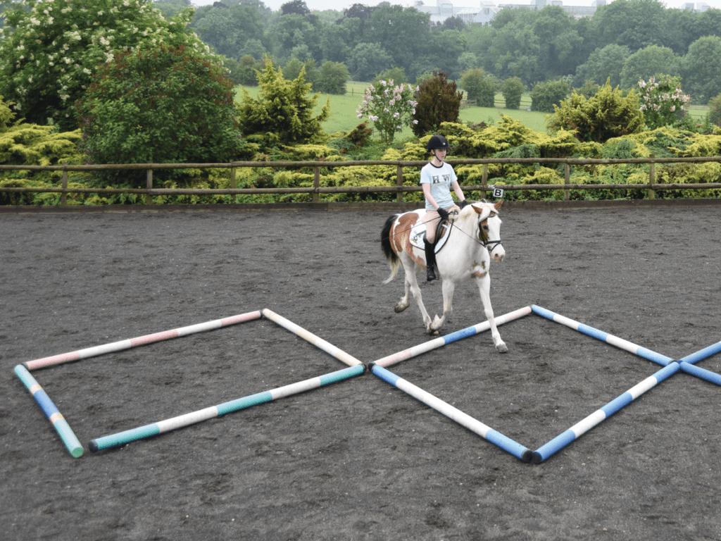 riding a polework exercise