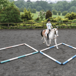 riding a polework exercise