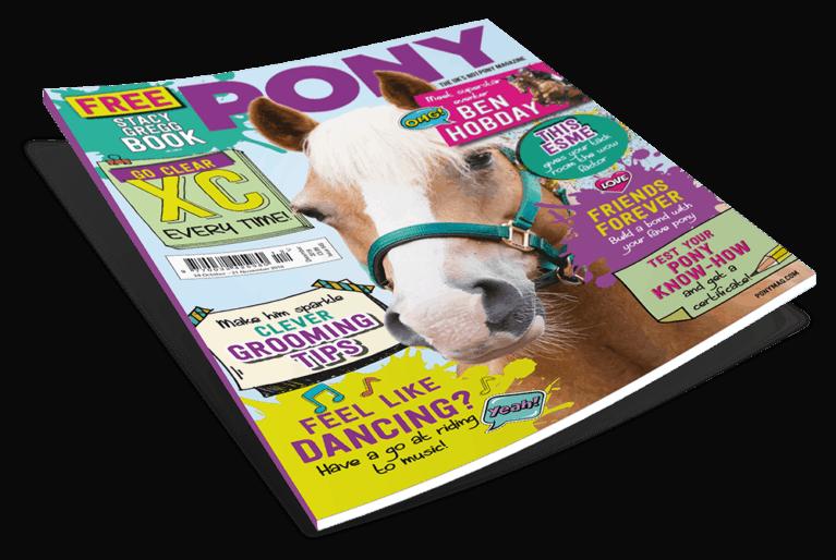 December PONY magazine