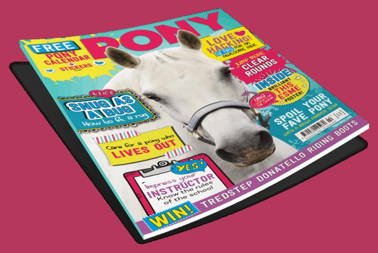 February PONY magazine