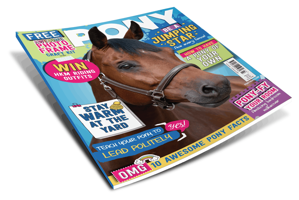 March issue of PONY magazine
