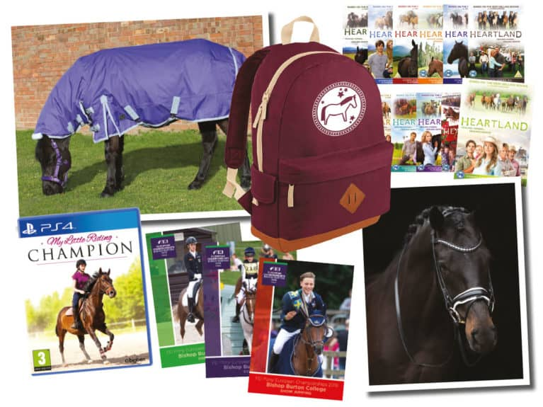 Prizes in March PONY giveaway