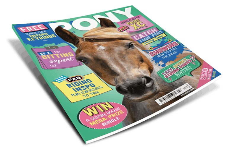 PONY magazine April issue