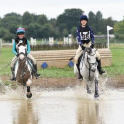 Pairs cross-country riding