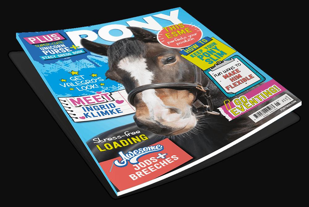 May PONY magazine issue