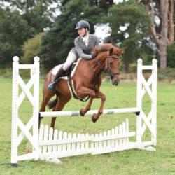 Riding a jump-off