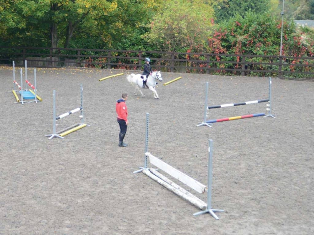 Riding a course with Robert Whitaker
