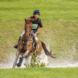 Ben Hobday eventing