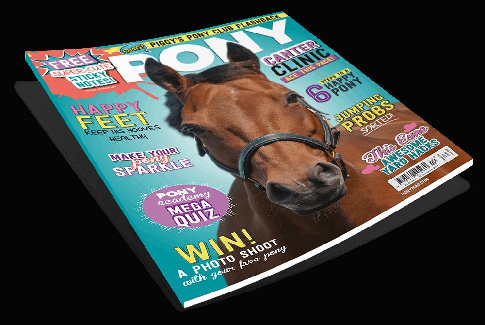 PONY December magazine