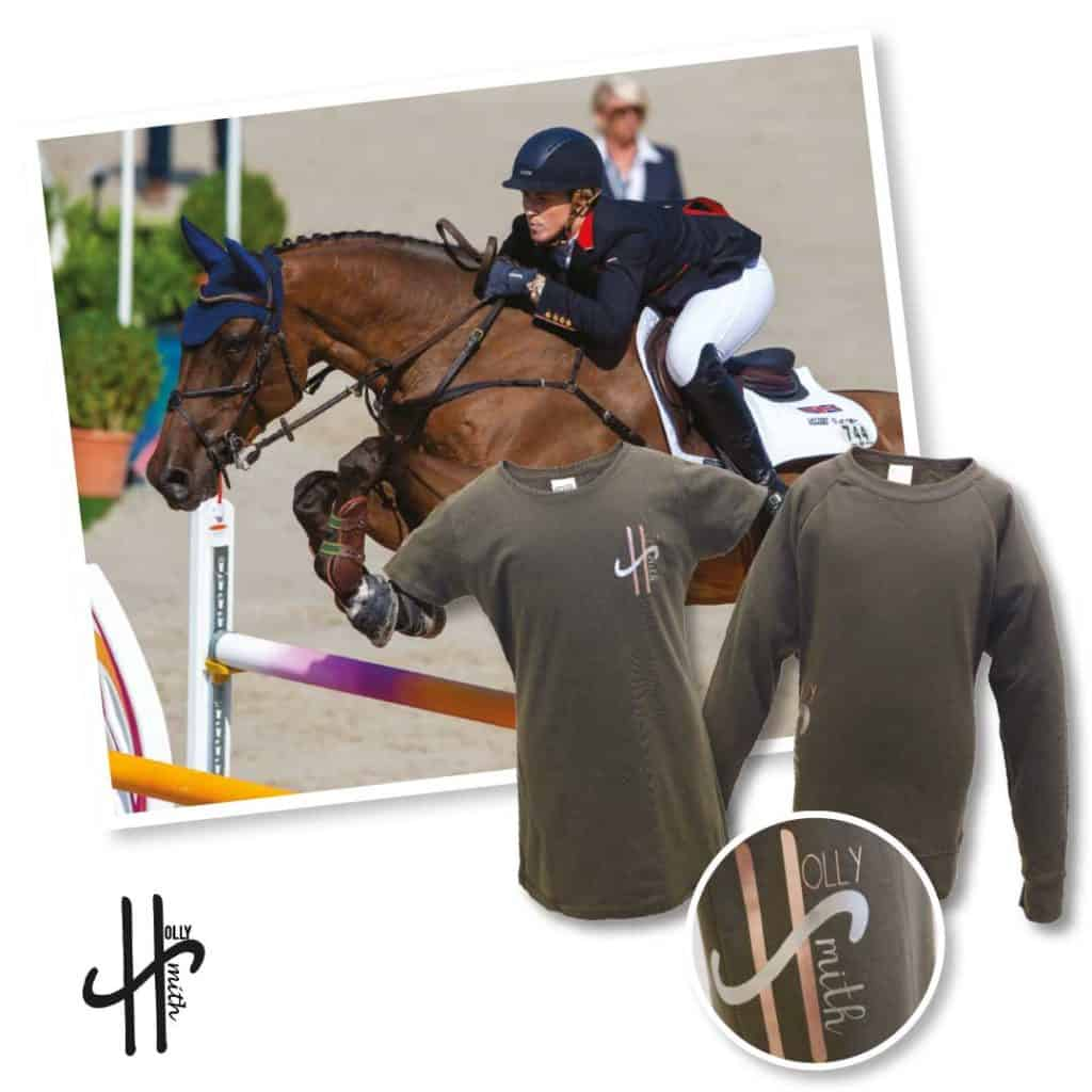 Lesson with Showjumper Holly Smith and clothing