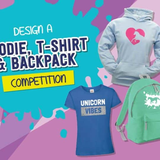 Design a hoodie, t-shirt and backpack competition