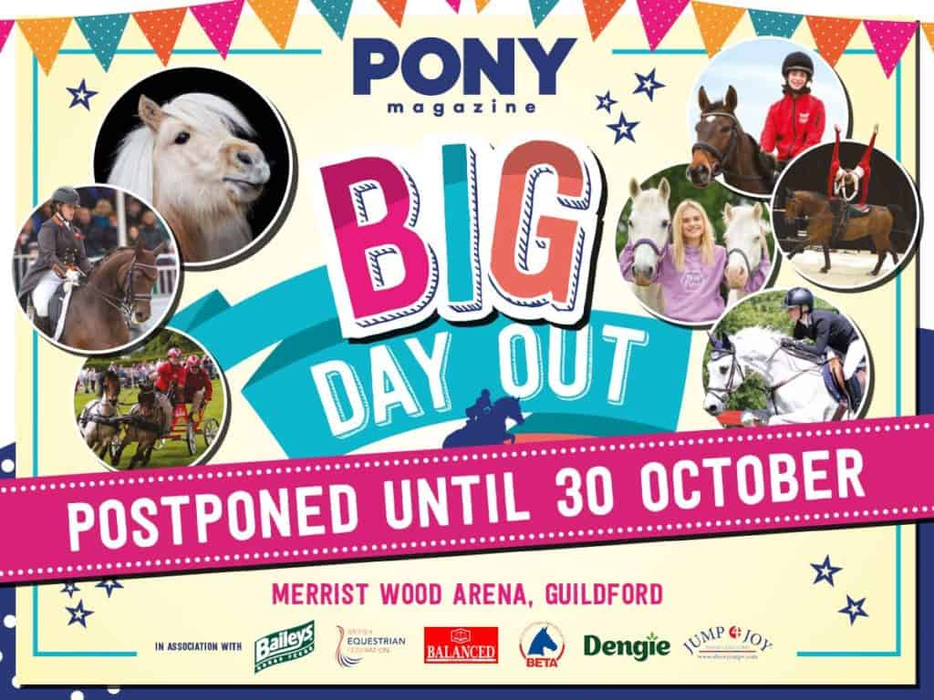 Important update about PONY Mag's Big Day Out
