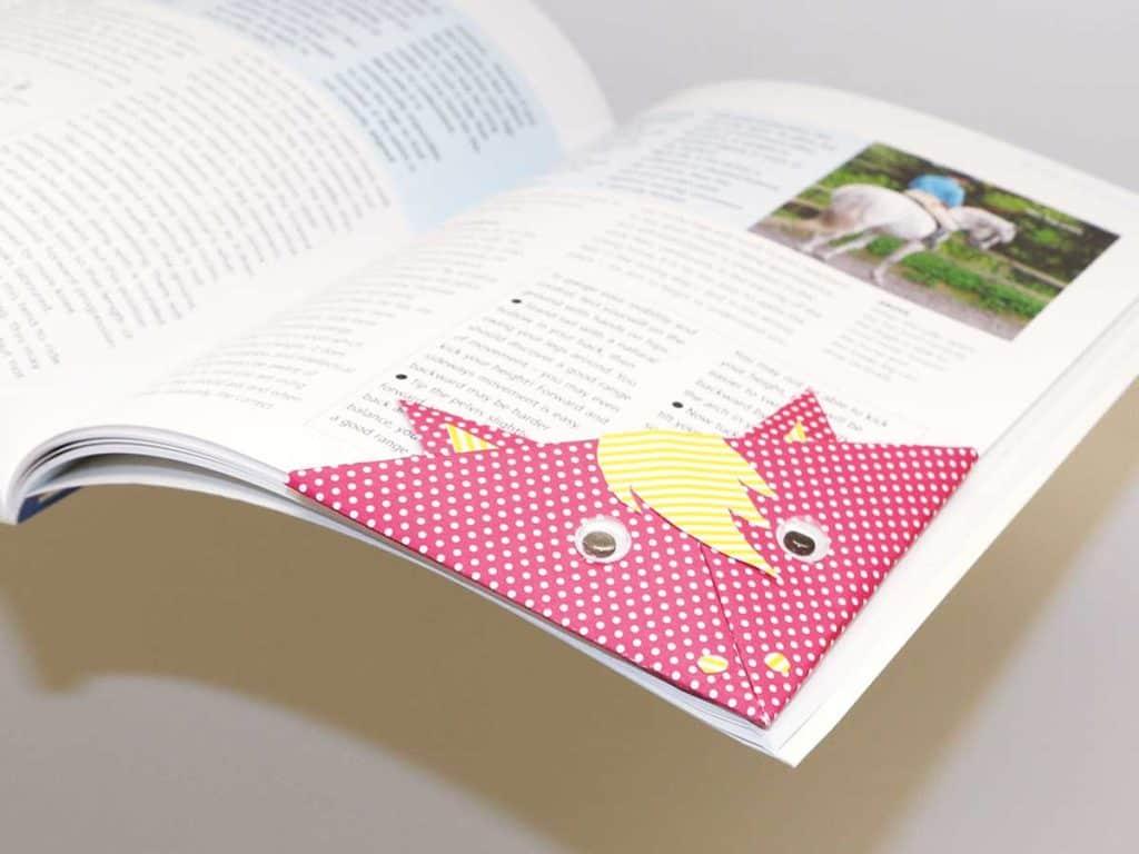 How to make a pony book mark