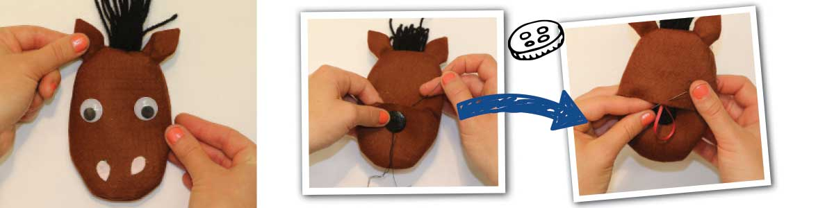 How to make a pony purse, steps 7-8