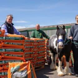 Baileys donates feed to World Horse Welfare