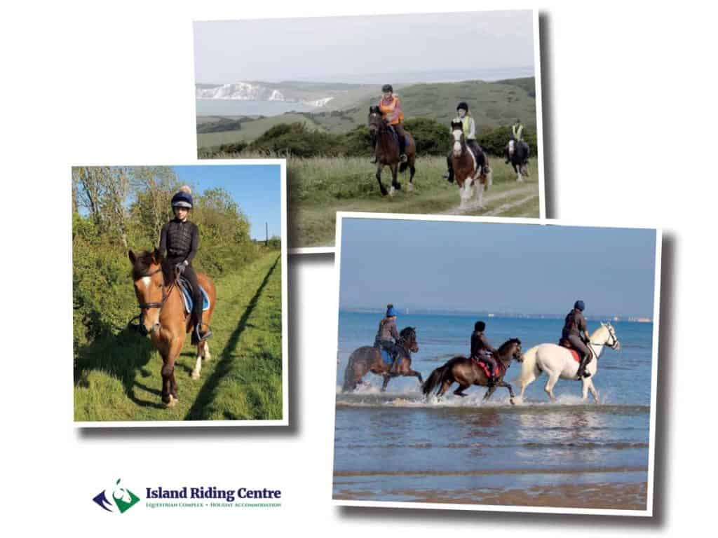 A riding holiday at the Island Riding Centre