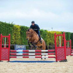 Joe Stockdale jumping
