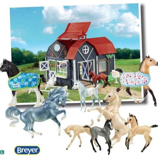 Breyer model horse competition set