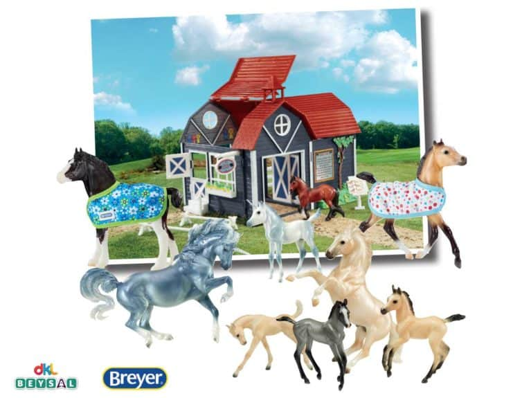 Breyer model horse competition set