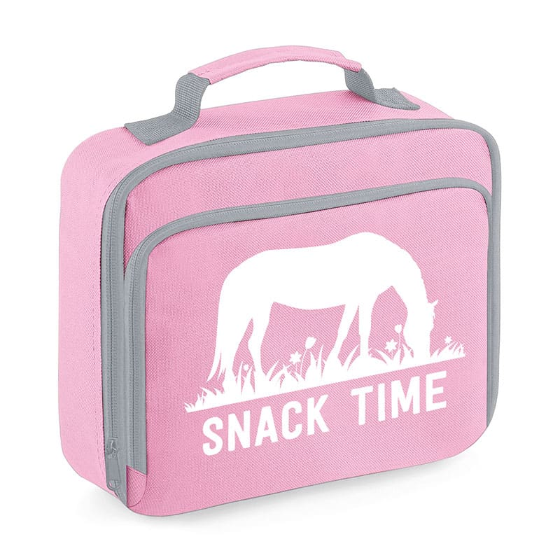 Grazing Horse Lunch Bag, Pink