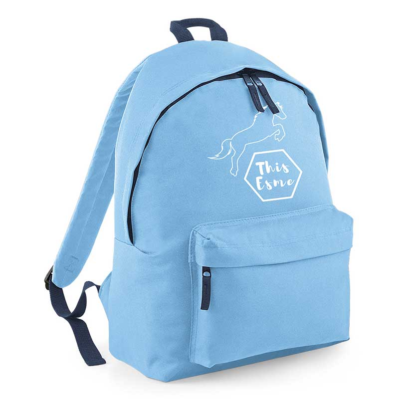 This Esme Blue Backpack