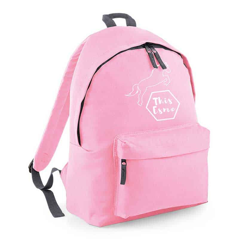 This Esme Pink Backpack