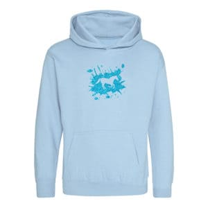 Pony Splash Children's hoodie