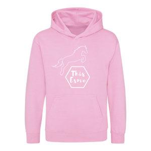 This Esme pale pink Hoodie