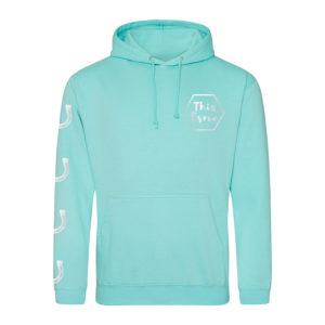 This Esme peppermint hoodie