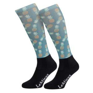LeMieux Footsie Sock Pineapples