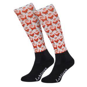 LeMieux Santas socks