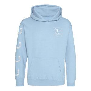 This Esme sky blue hoodie
