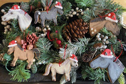 Christmas decorations make