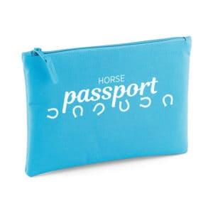 Horse passport pouch