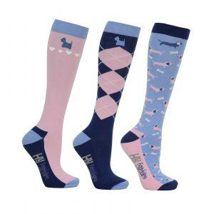 HY Equestrian Isabella dog socks