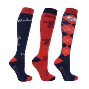 Thelwell HY Equestrian riding socks