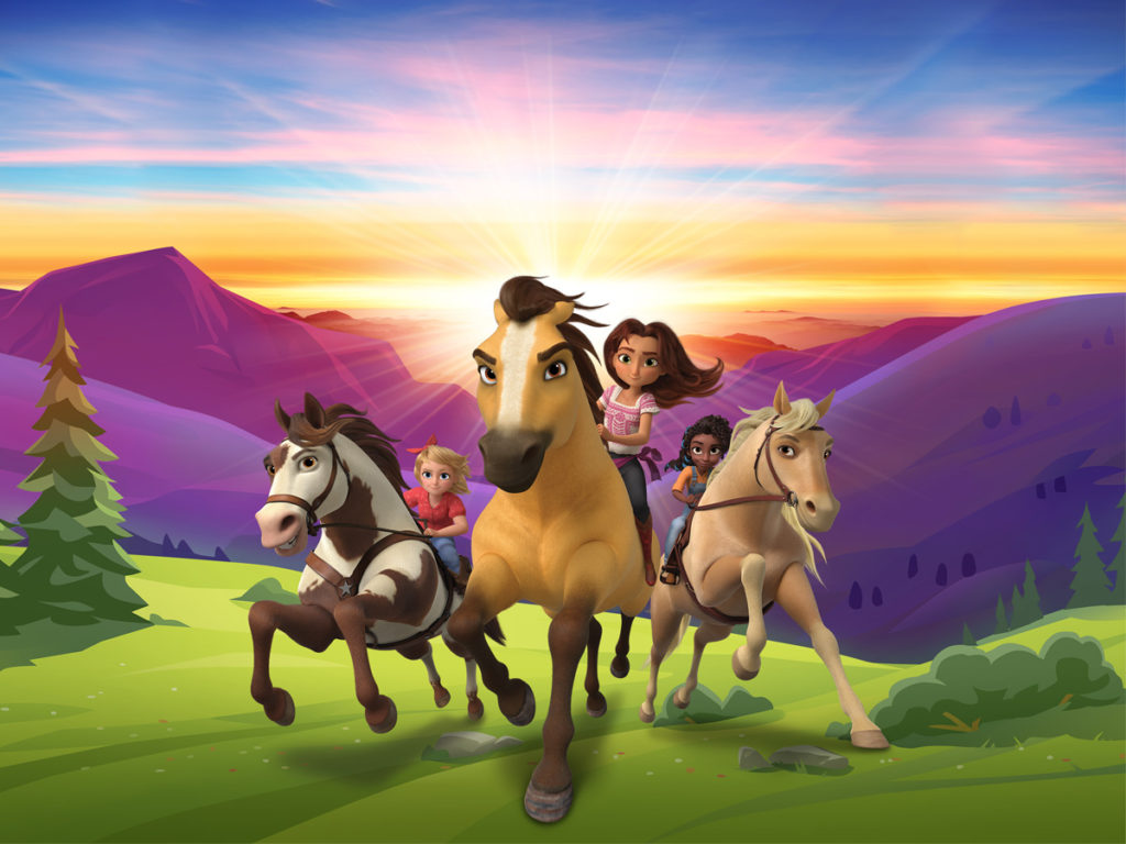 Spirit: Riding Free video game