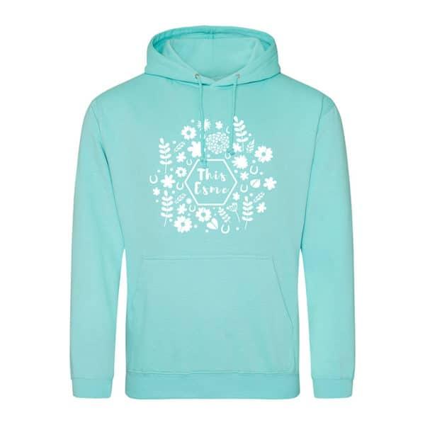 This Esme spring hoodie - peppermint