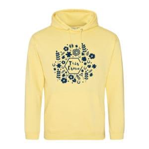 This Esme Spring hoodie - Sherbet lemon