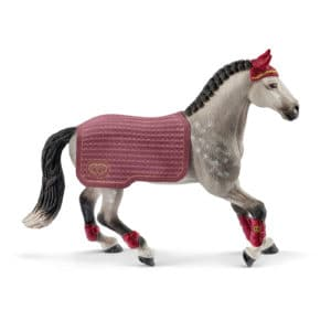 Schleich: Trakehner mare riding tournament