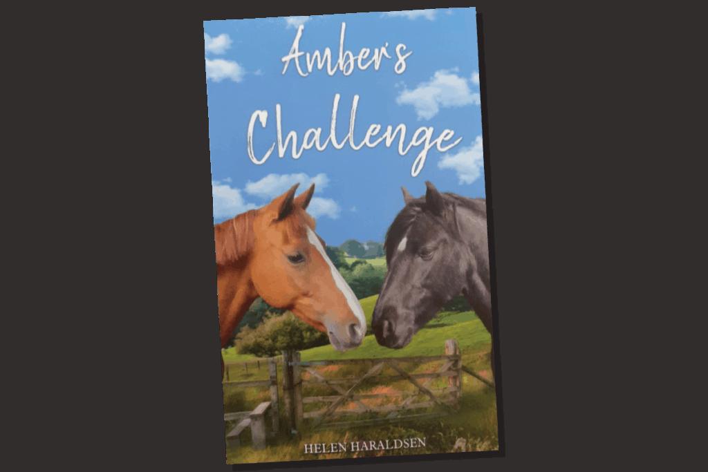 Amber's Challenge by Helen Haraldsen. PONY book club