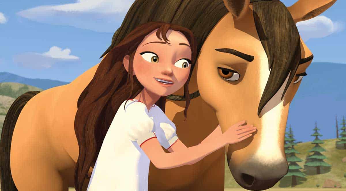 Lucky Prescott, Spirit: Riding Free