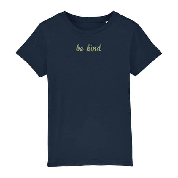 Be Kind t-shirt, navy
