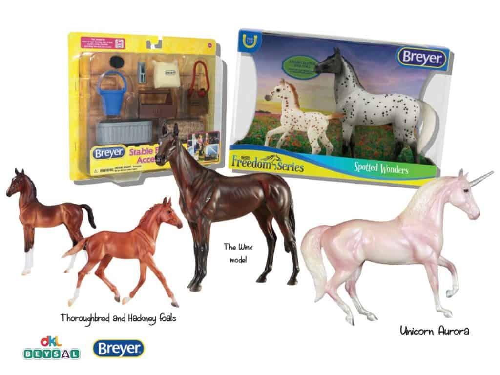 Set of brilliant Breyer models competition