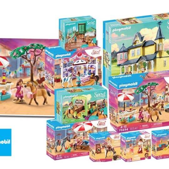 Playmobil Spirit sets