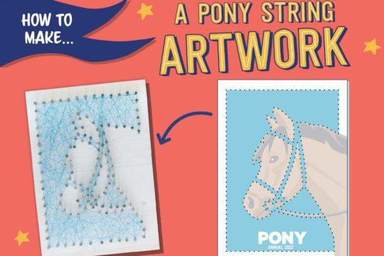 PONY 2022 template - string art