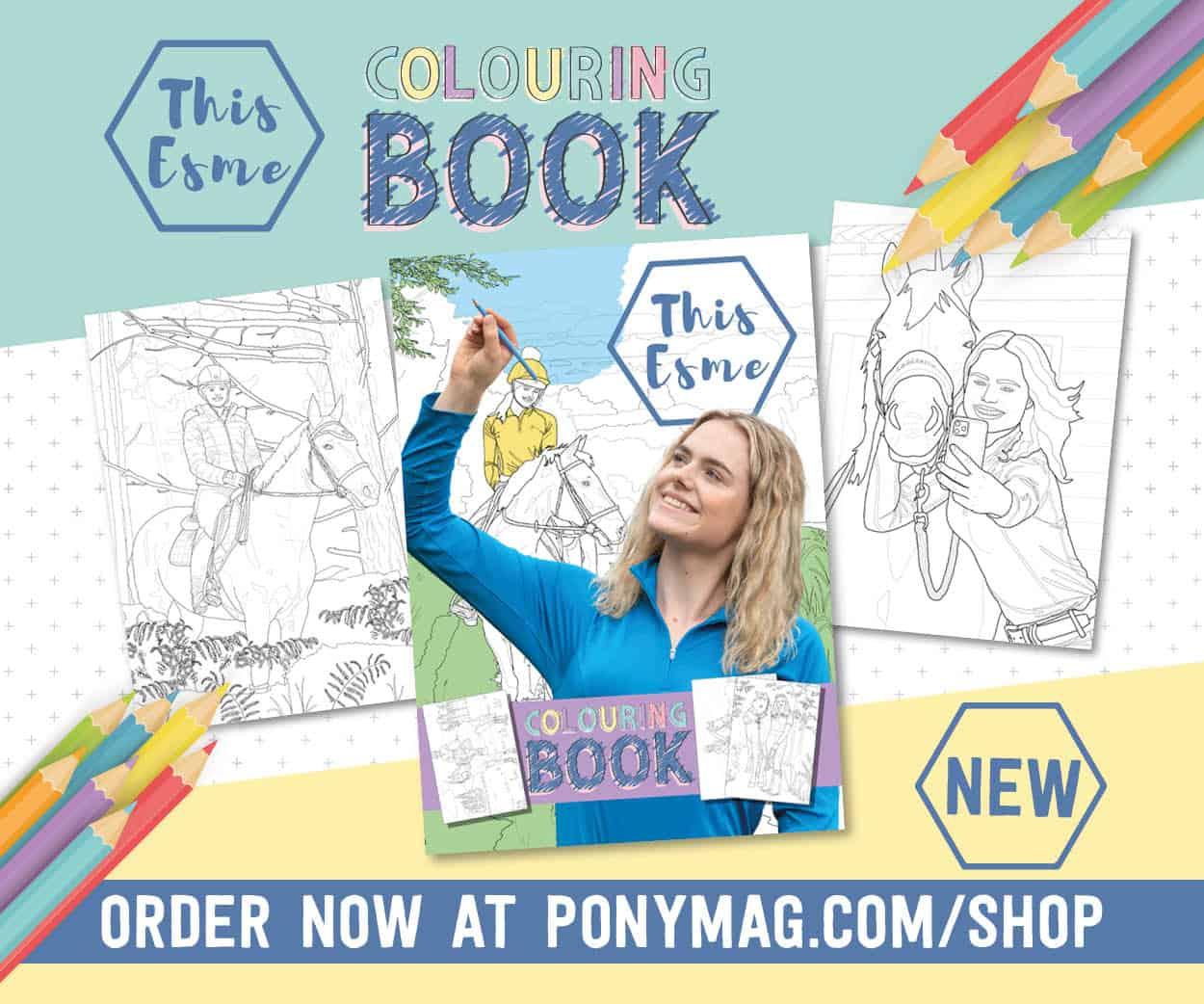 This Esme colouring book