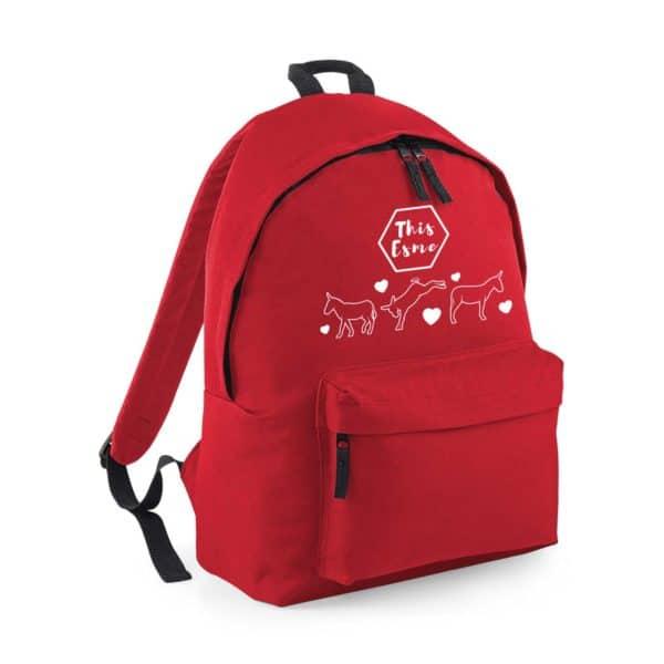 This Esme Donkeys backpack